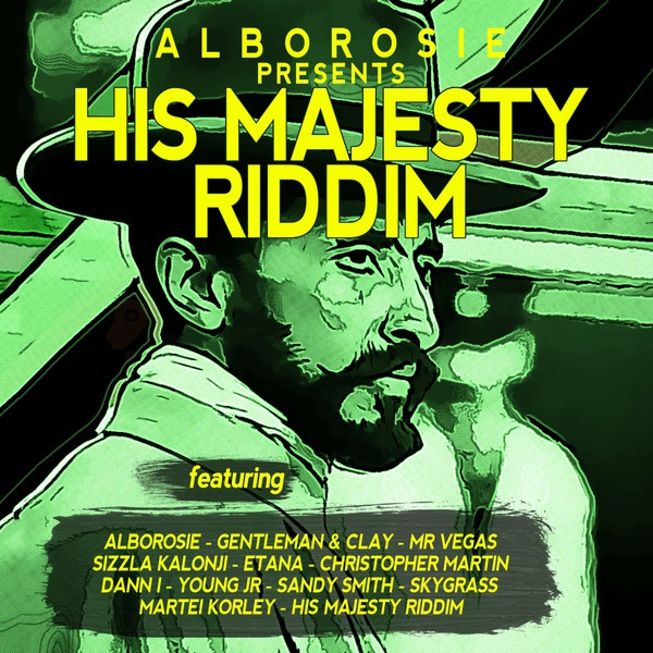 Cover ALBOROSIE, his majesty riddim