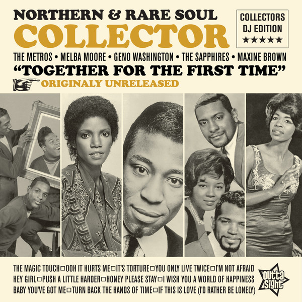 Cover V/A, northern & rare soul collector