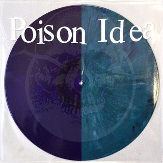 Cover POISON IDEA, 2016 5 song ep