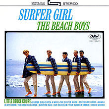Cover BEACH BOYS, surfer girl