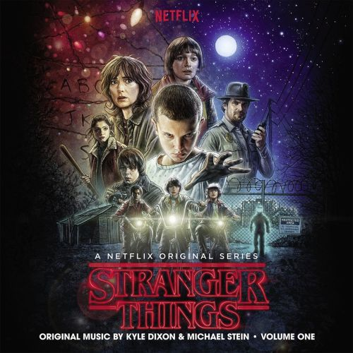 O.S.T. (KYLE DIXON & MICHAEL STEIN), stranger things season 1/vol.1 cover
