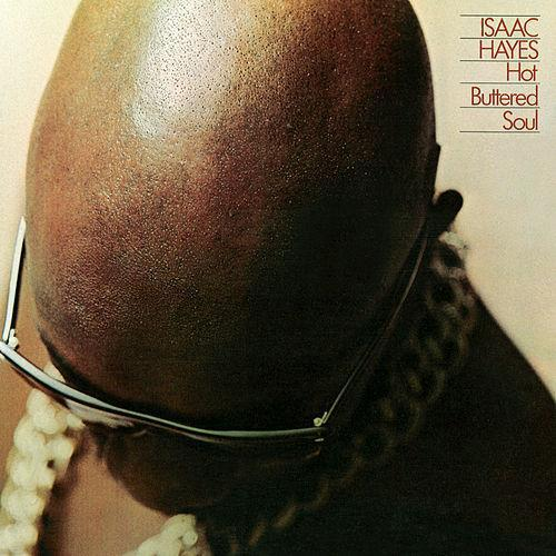 Cover ISAAC HAYES, hot buttered soul