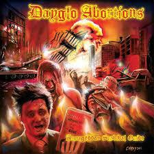 Cover DAYGLO ABORTIONS, armageddon survival guide