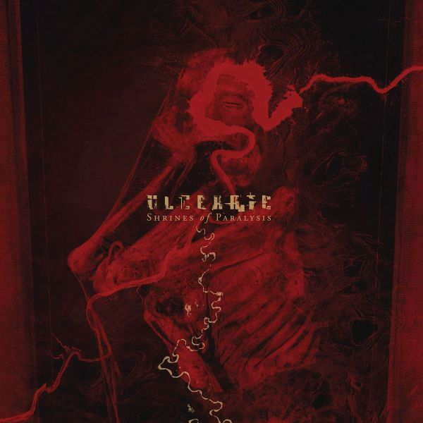 Cover ULCERATE, shrines of paralysis
