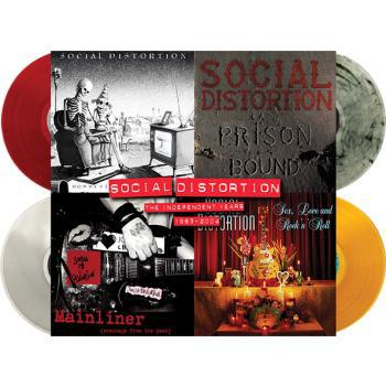 Cover SOCIAL DISTORTION, the independent years: 1983-2004