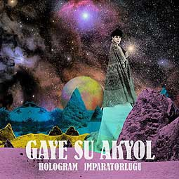 GAYE SU AKYOL, hologram imparatorlugu cover