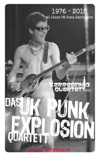 Cover KERRESINHIO QUARTETT, uk punk explosion 1976-2016