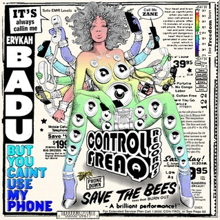 Cover ERYKAH BADU, but you can´t use my phone