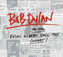 Cover BOB DYLAN, the real royal albert hall 1966 concert