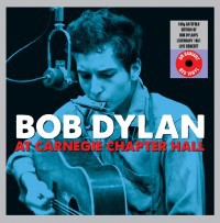 Cover BOB DYLAN, carnegie chapter hall