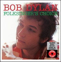 Cover BOB DYLAN, folksingers choice