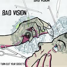 Cover BAD VISION, turn out your socks