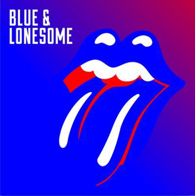 Cover ROLLING STONES, blue & lonesome