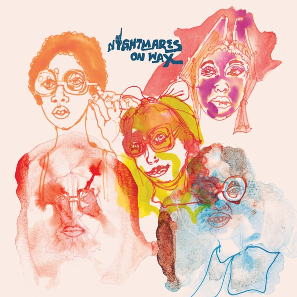 Cover NIGHTMARES ON WAX, ground floor ep