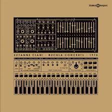 SUZANNE CIANI, buchla concerts 1975 cover