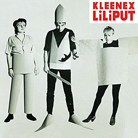 KLEENEX / LILIPUT, first songs cover