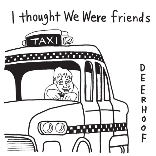 Cover DEERHOOF, i thought we were friends