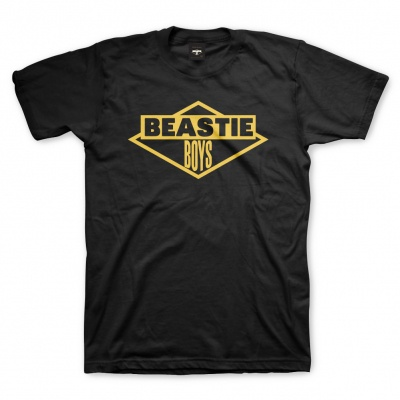 BEASTIE BOYS, bb logo (boy) black cover