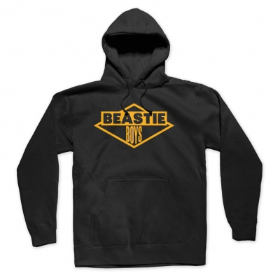 BEASTIE BOYS, bb logo (boy) black hoodie cover