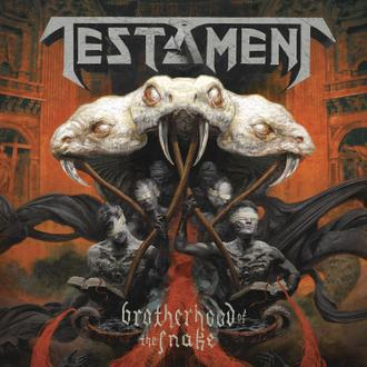 Cover TESTAMENT, brotherhood of the snake