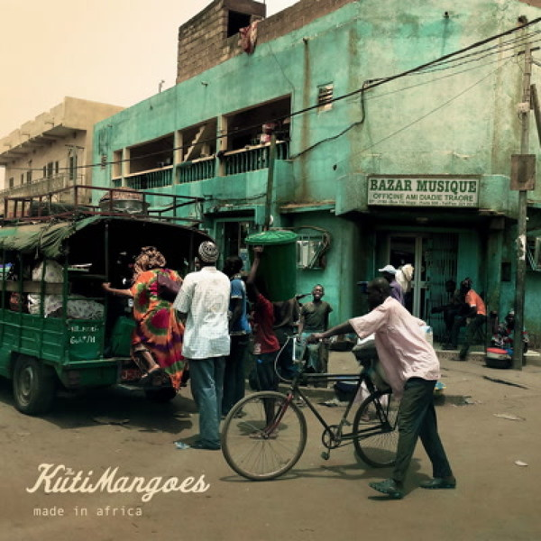 KUTIMANGOES, made in africa cover