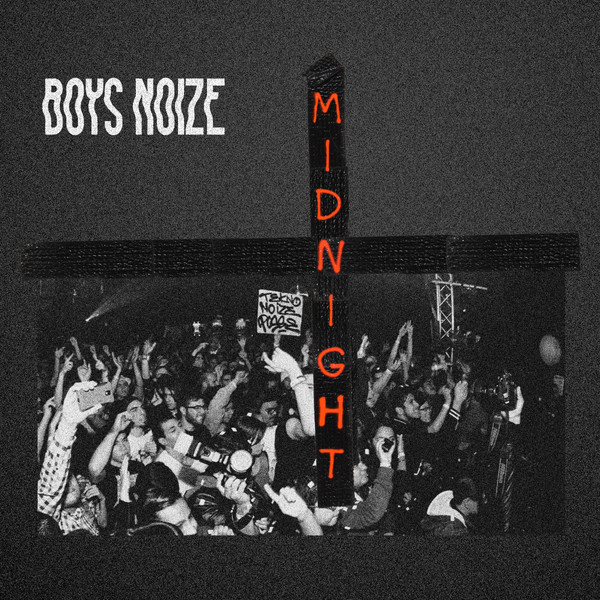 Cover BOYS NOIZE, midnight remix ep