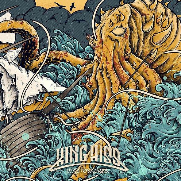 KING HISS, mastosaurus cover