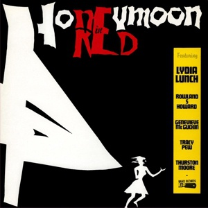 Cover LYDIA LUNCH, honeymoon in red