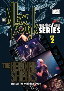 HEROINE SHEIKS, the new york post punk/noise series vol. 3 cover