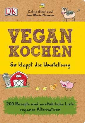 CELINE STEEN/JONI MARIE NEWMAN, vegan kochen cover