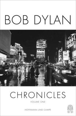 Cover BOB DYLAN, chronicles