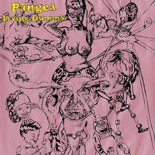 PANGEA, living dummy cover