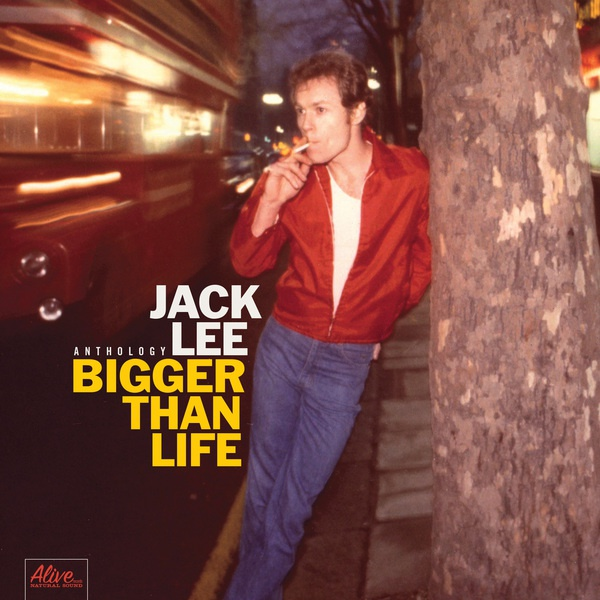 Cover JACK LEE, bigger than life (anthology)