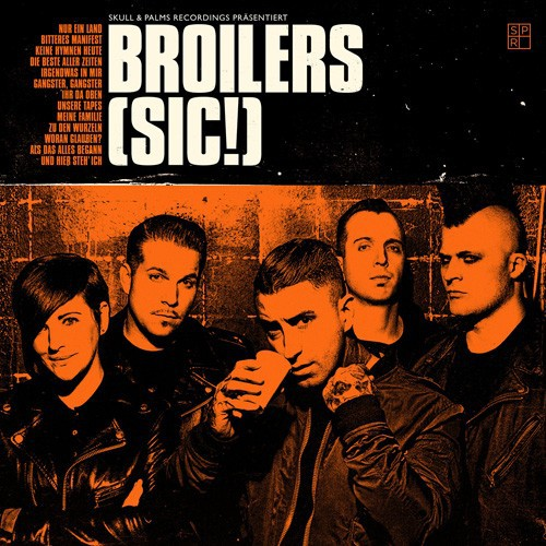 Cover BROILERS, (sic!)