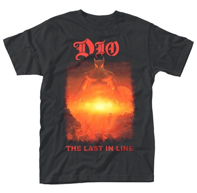 Cover DIO, the last in line (boy) black