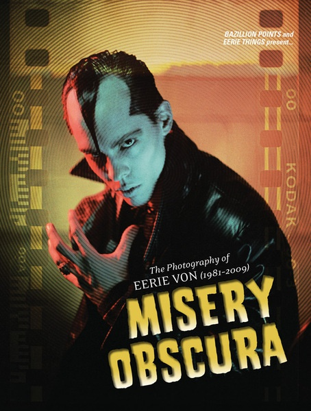 EERIE VON, misery obscura cover