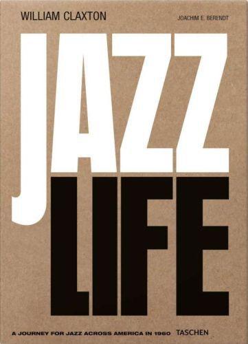 JOACHIM E. BERENDT, william claxton. jazzlife cover