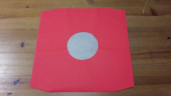 LP Innenhüllen Deluxe, 10er pack_rot cover