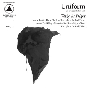 UNIFORM, wake in fright cover