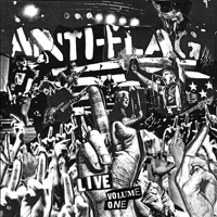 Cover ANTI-FLAG, live volume one