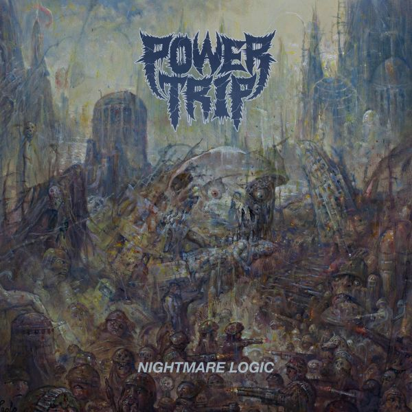POWER TRIP, nightmare logic cover