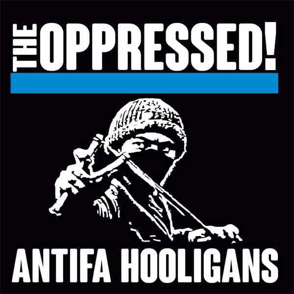 Cover OPPRESSED!, anti hooligans