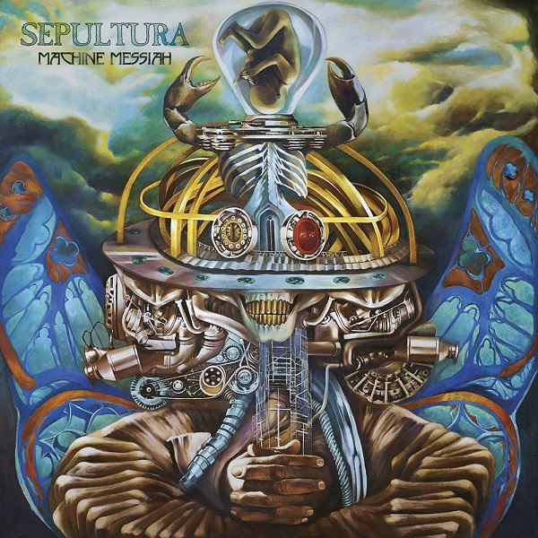 Cover SEPULTURA, machine messiah