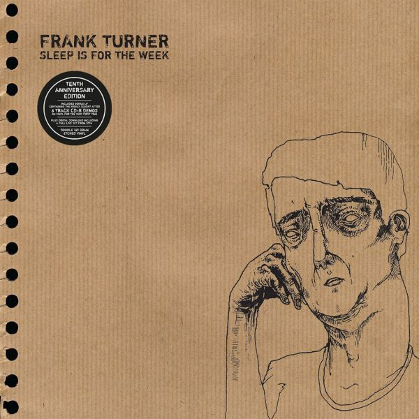 FRANK TURNER, sleep is for the week (10th anniversary edition) cover