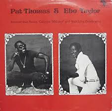 Cover PAT THOMAS & EBO TAYLOR, sweeter than honey