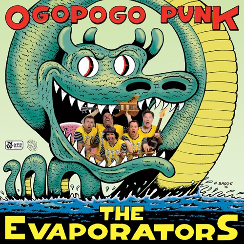 Cover EVAPORATORS, ogopogo punk