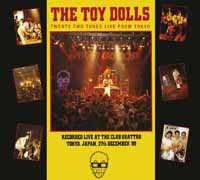 Cover TOY DOLLS, twenty two tunes live from tokyo