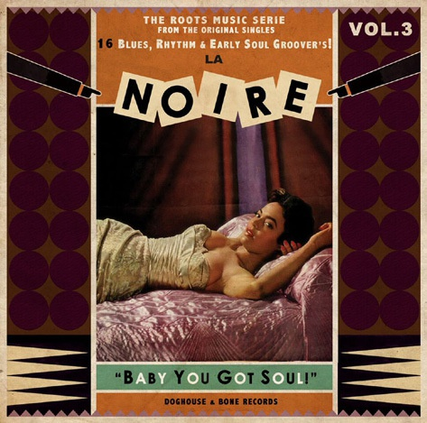 V/A, la noire vol. 3 - baby you got soul cover