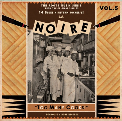Cover V/A, la noire vol. 5 - too many cooks