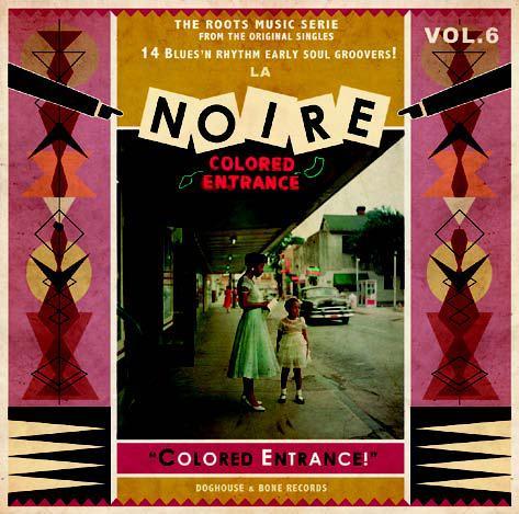 V/A, la noire vol. 6 - colored entrance cover